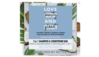 Love and Beauty and Planet two-in-one bar