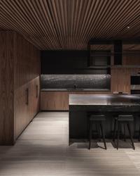 kitchen leckie studio penthouse