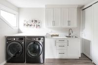 washer dryer room