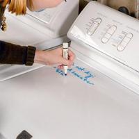 write on washer