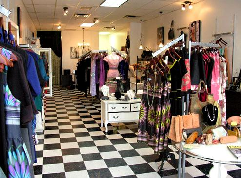 The Velvet Room Boutique in Kerrisdale, Vancouver