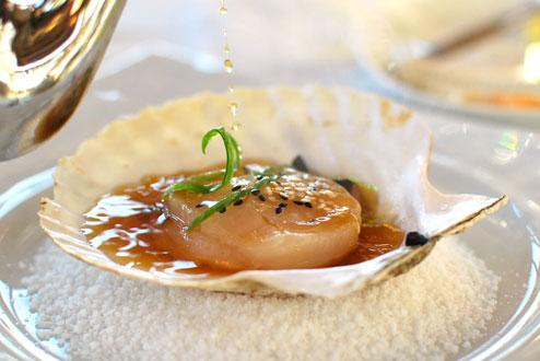 Sustainable seafood, Bayne Sound scallops