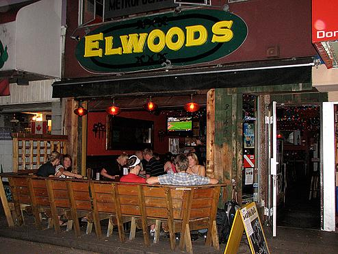 Elwoods on West Broadway