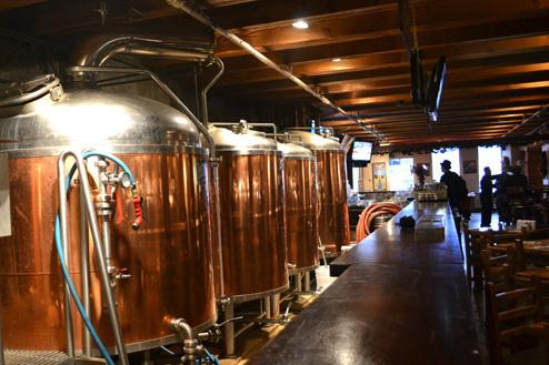 Craft Brewery Powered by Gastown's Steam Line