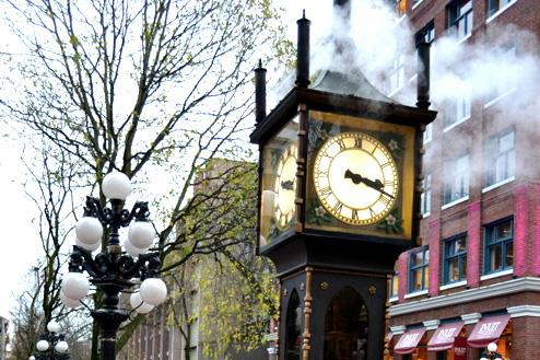 This Gastown Landmark Lets Off A Lot Steam