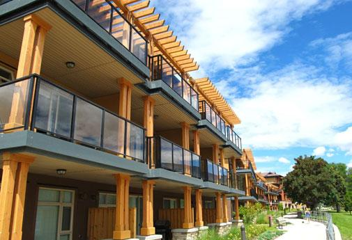 Luxury 2-bed beachfront townhomes at the newly opened Watermark Beach Resort in Osoyoos
