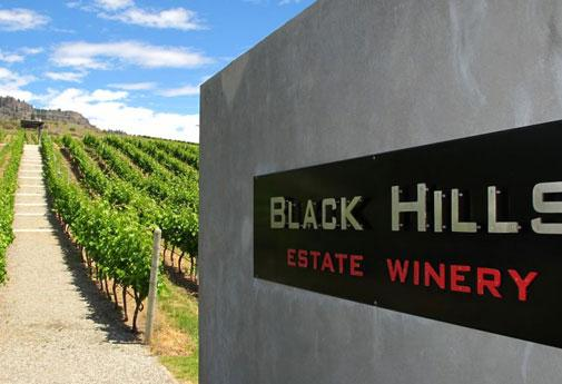 A unique type of wine tasting is at the Black Hills Estate Winery in Osoyoos