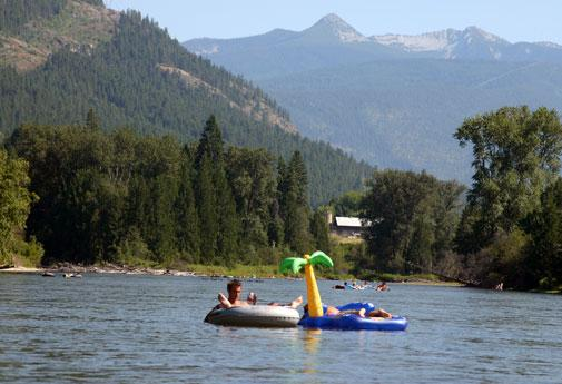 Nelson's forested lake offers a picturesque backdrop for myriad outdoor activities