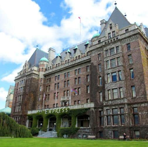Victoria's Empress Hotel offers luxurious accommodations and afternoon tea