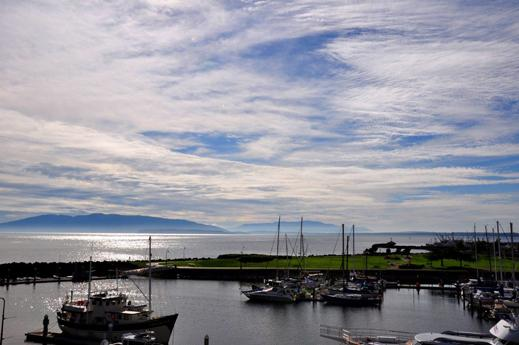 Bellingham's Hotel Bellweather offers moorage for guests in beautiful Bellingham Bay