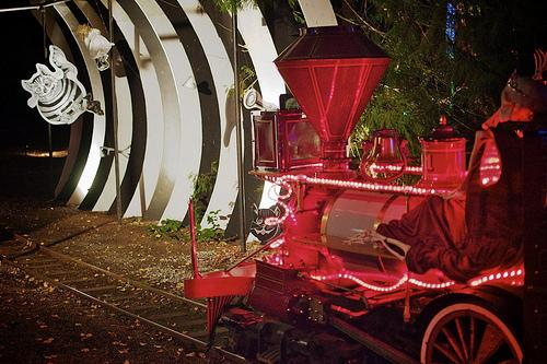 Stanley Park Ghost Train – October 5 - 31, 2012