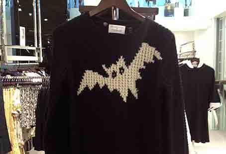 JW Anderson bat jumper - a favourite of Alexa Chung