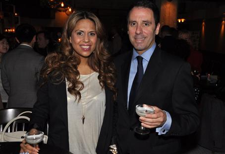 Joti Samra from the Oprah Winfrey Network's Million Dollar Neighbourhood joins The Travel Guys' Jim Gordon at The Parlour opening party