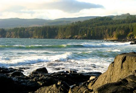 If you're seeking to unwind on the rugged West Coast but don't relish the long, windy drive to Tofino, look no further than scenic Sooke