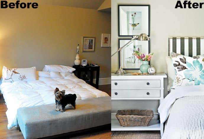 Bedroom Makeover Before And After Bcliving