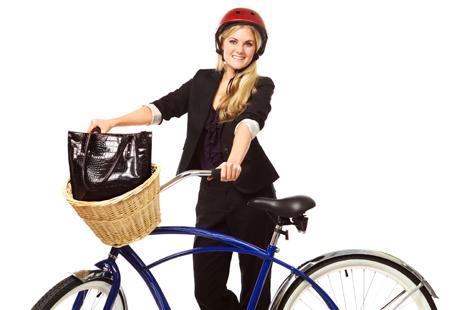 Cycling doesn't have to be all nylons and spandex. Add the right accessories to your biking gear for a chic ride