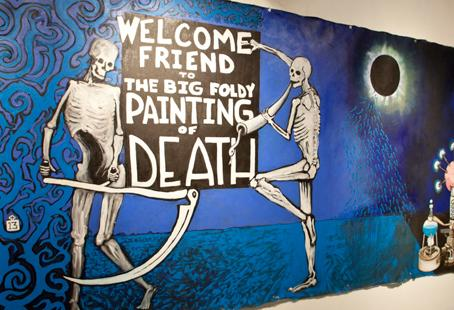 The Big Foldy Painting of Death: Ian Forbes