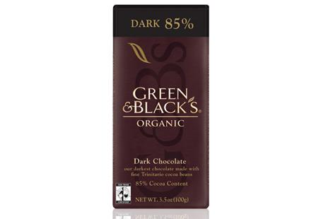Green & Black's Dark