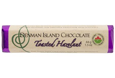 Denman Island Chocolate Toasted Hazelnut Bar