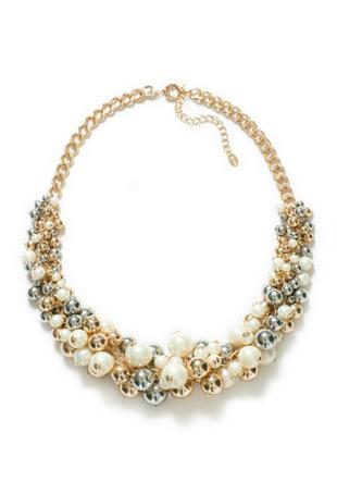 Beaded Necklace, Zara, $39.90
