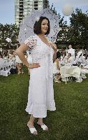 White was all right on a beautiful late-summer evening for the second annual Diner en Blanc