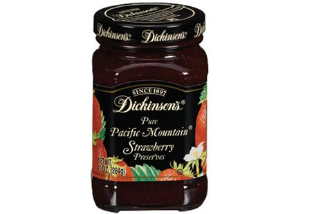 Dickinson's Pacific Mountain Strawberry Preserves