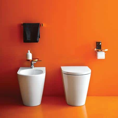 From Citrus-hued Tiles to a Reclining Shower, We Have the Latest Trends in Bathroom Design Covered