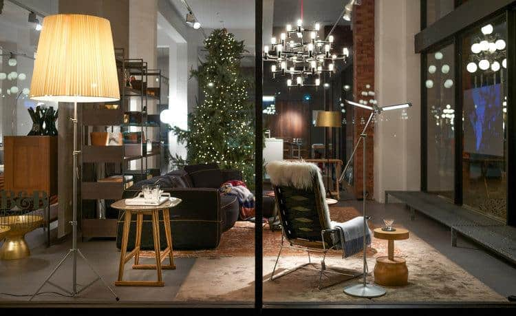 B&B Italia window for Inform Interiors – Home for the Holidays