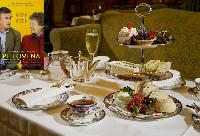 Philomena and Afternoon Tea at the Fairmont Hotel