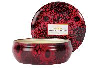 Voluspa Goji and Tarocco Orange 3 Wick Decorative Tin Candle