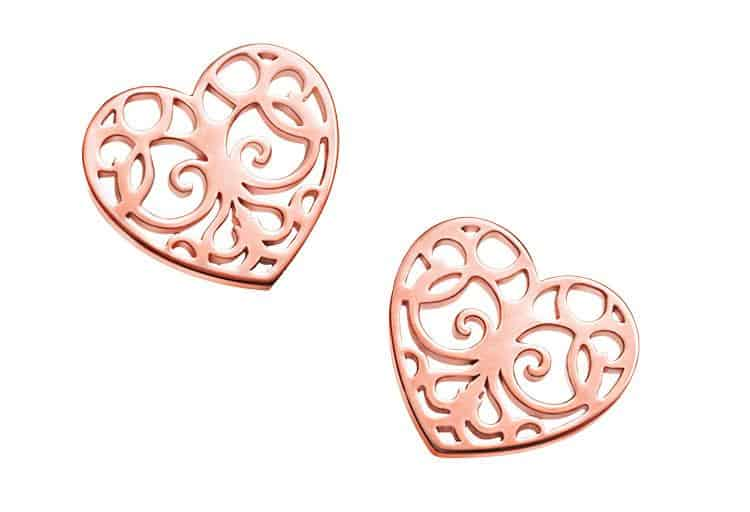 Tiffany Enchant Heart Earrings