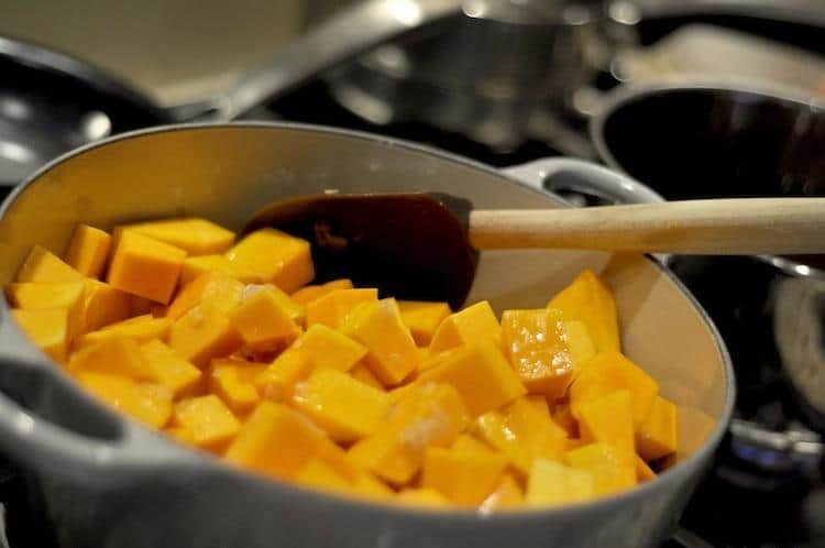 One-Pot Mushroom and Butternut Squash Curry