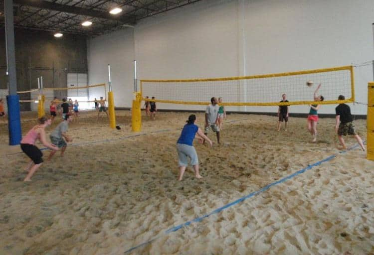 6-pack Beach Volleyball