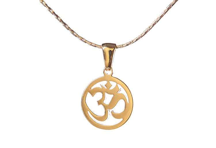 OM Necklace, $20