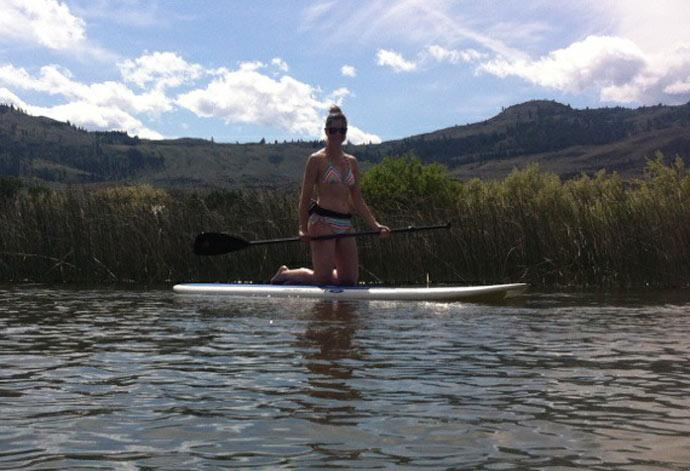 Stand Up Paddle Board on Osoyoos Lake