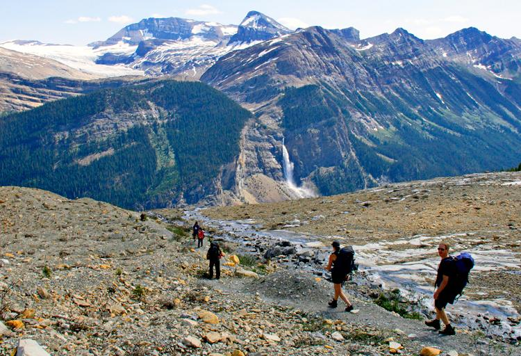 Hike the Iceline Trail in Yoho National Park, Kootenays