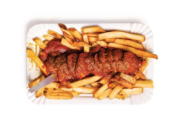 The Currywurst - Bestie, 105 East Pender St.