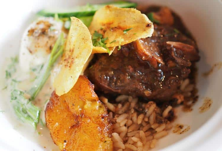 Oxtail - Calabash Bistro, 428 Carrall St.