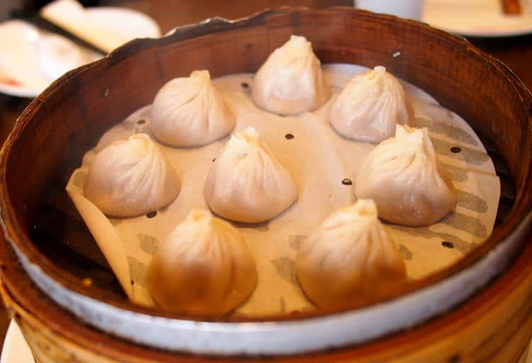 Xiaolongbao – Dinesty, 1719 Robson St., Vancouver and 8111 Ackroyd Rd., Richmond