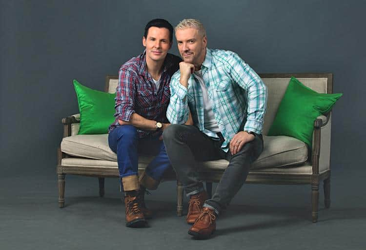 BCLiving catches up with TV design stars Colin and Justin
