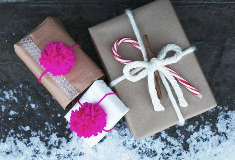 Leave a lovely first impression by thinking outside of the gift box this holiday with these wrapping tips