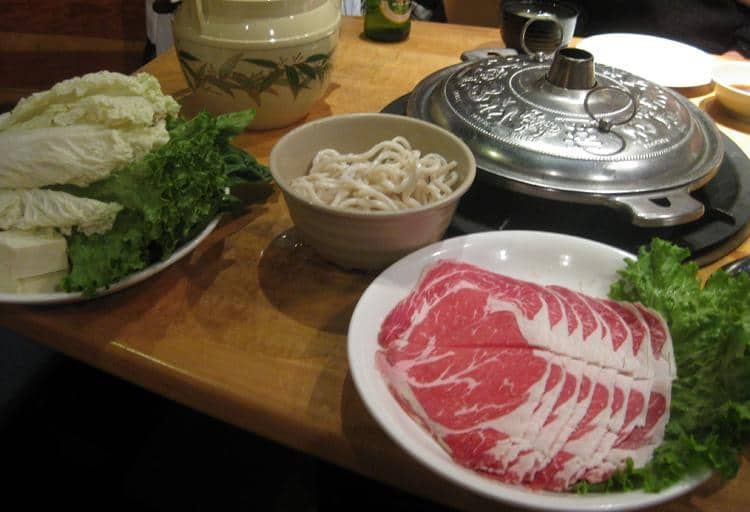 Grill it yourself: Shabusen