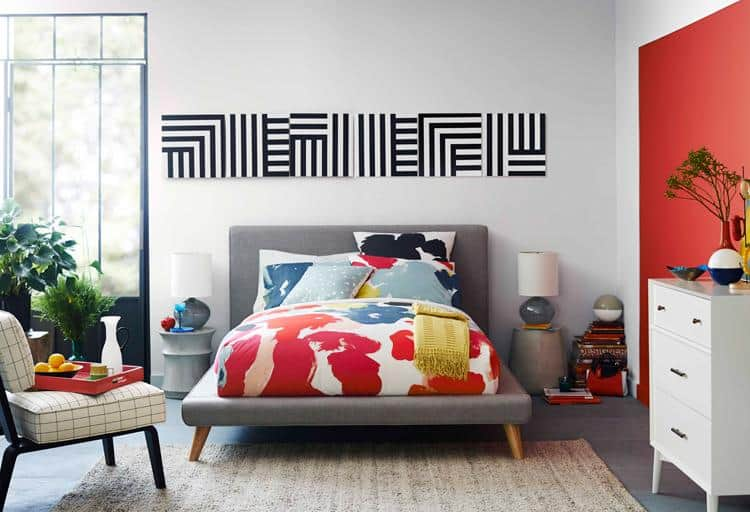 Kate Spade Saturday gets into bed – literally – with West Elm