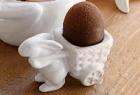 Bunny Wagon Egg Cup from Pottery Barn