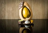 Coconut Egg Sculpture from Chez Cristophe