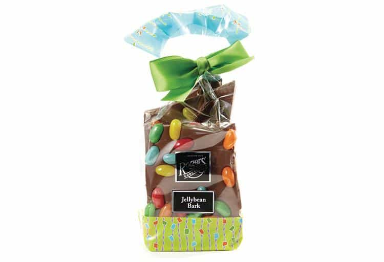 Milk Chocolate Jellybean Bark from Rogers' Chocolates