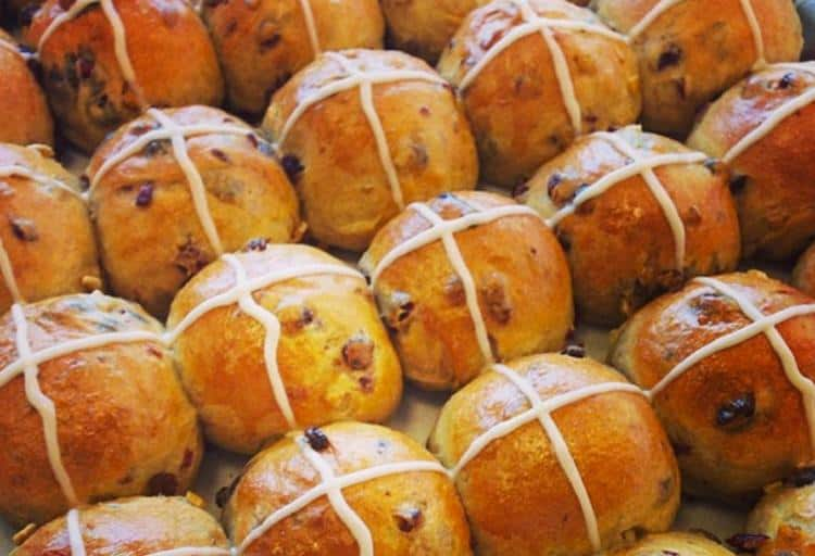 Hot Cross Buns from Butter Baked Goods