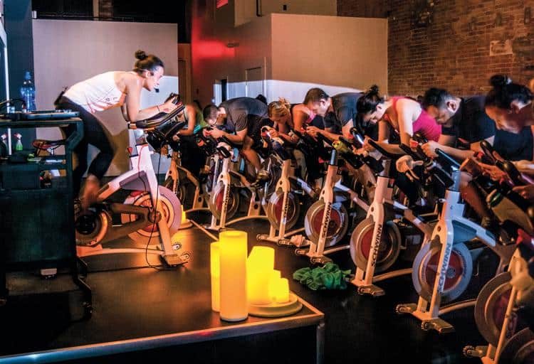 For active-living warriors or those just looking for a fun workout, here are our five fave indoor cycling classes