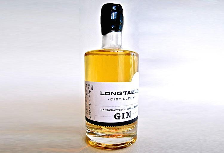 Bourbon Barrelled Gin - Long Table Distillery, 1451 Hornby Street