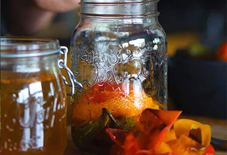 Charred Pepper Vinegar by Jonathan Chovancek, Executive Chef of Café Medina & Co-proprietor, Bittered Sling Bitters